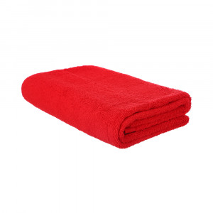 بشكير للاستحمام نايس هوم، 140×70 سم - احمر