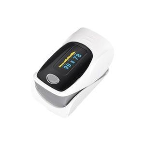 جهاز قياس نبض القلب و نسبة الاكسجين - ابيض اسود