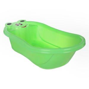 بانيو استحمام للاطفال اشكال ديزني، 80×45 سم - اخضر