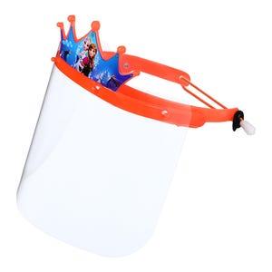 ماسك واقى للوجه اكريليك للاطفال، 26×18 سم - برتقالى