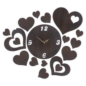 ساعة حائط مستدير رنيم، 18×44 سم - نبيتي